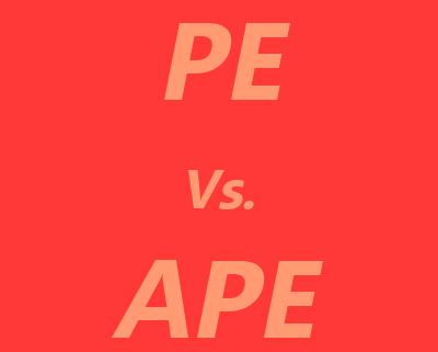 PE vs. APE