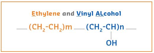 ساختار شیمیایی EVOH