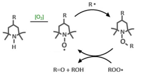 مکانیسم پایدارسازی در برابر اشعه UV توسط HALS