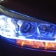 Car polymer light